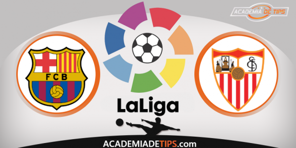 Barcelona x Sevilha, Prognóstico, Analise e Apostas - La Liga