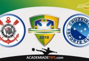 Corinthians v Cruzeiro, Prognóstico, Analise e Apostas - Copa do Brasil