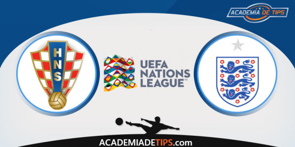 Croácia vs Inglaterra, Prognóstico, Analise e Apostas - UEFA Liga das Nações