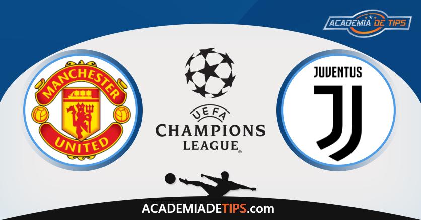 Manchester United x Juventus, Prognóstico, Analise e Apostas - Liga dos Campeões