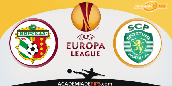Vorskla Poltava x Sporting , Prognóstico, Analise, UEFA Liga Europa