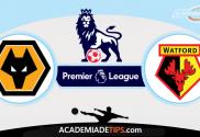 Wolverhampton vs Watford, Prognóstico, Analise e Apostas - Premier League
