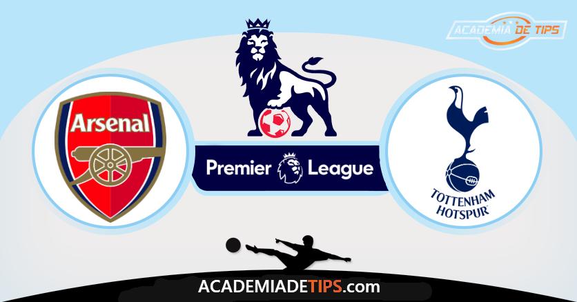 Arsenal x Tottenham,Prognóstico, Analise e Apostas - Premier League