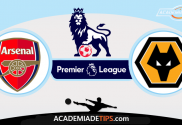 Arsenal x Wolverhampton, prognóstico, Analise e Apostas - Premier League