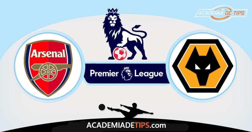 Arsenal x Wolverhampton,prognóstico, Analise e Apostas - Premier League
