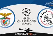 Benfica x Ajax, Prognóstico, Analise, Apostas, Liga do Campeões