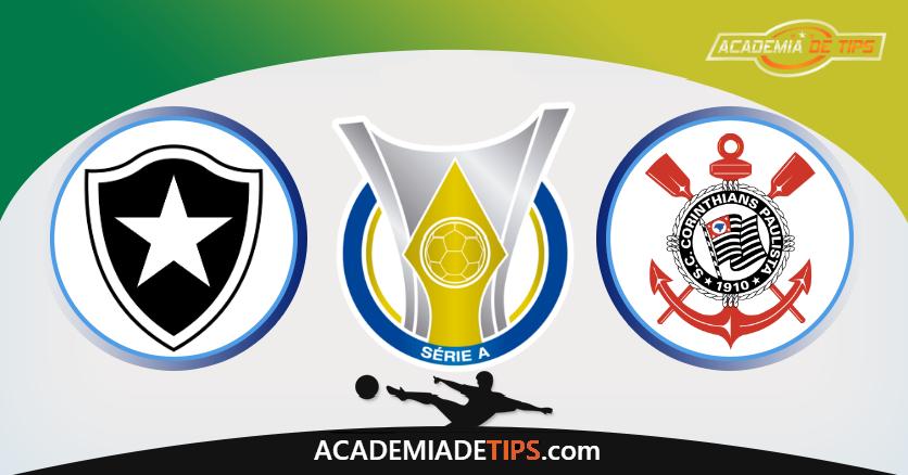 Botafogo x Corinthians, Prognóstico, Analise e Apostas - Brasileirão 201819