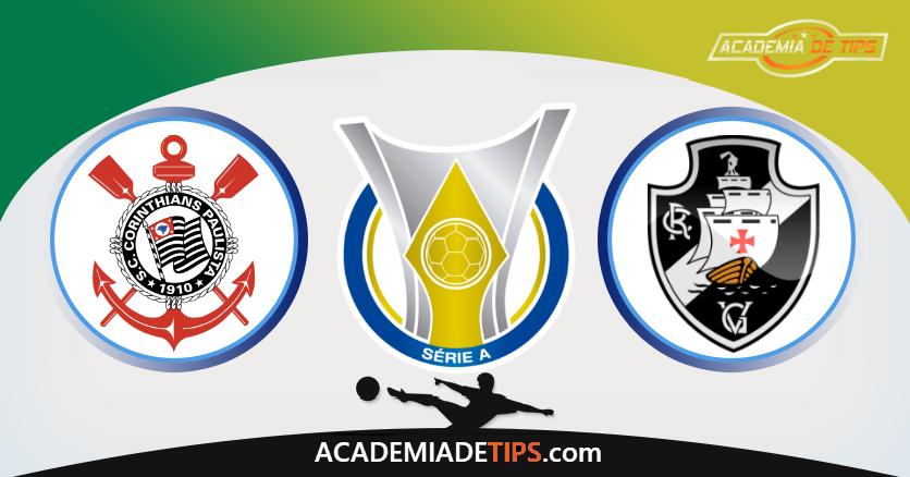 Corinthians x Vasco, Prognóstico, Analise e Apostas - Brasileirão 2018 19