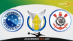 Cruzeiro vs Corinthians – Aposta Múltipla e Simples – Futebol com Valor