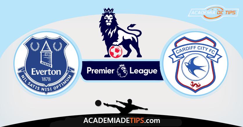 Everton vs Cardiff,Prognóstico, Analise e Apostas - Premier League