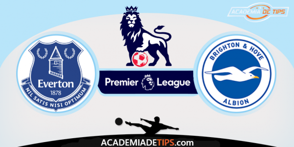 Everton x Brighton, Prognóstico, Analise e Apostas - Premier League