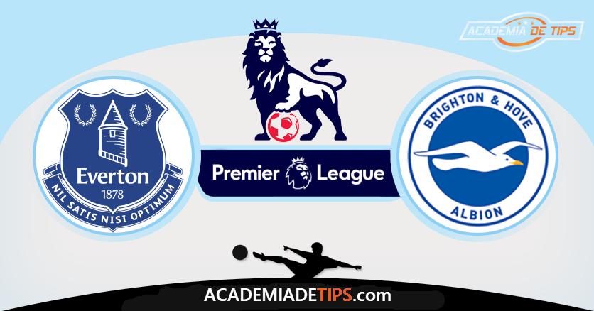 Everton x Brighton, Prognóstico, Analise e Apostas - Premier League