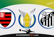 Flamengo x Santos, Prognóstico, Analise e Apostas Online - Brasileirão