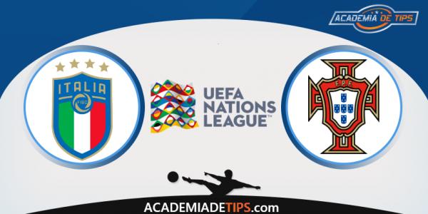 Itália x Portugal, Prognóstico, Analise e Apostas - UEFA Liga das Nações