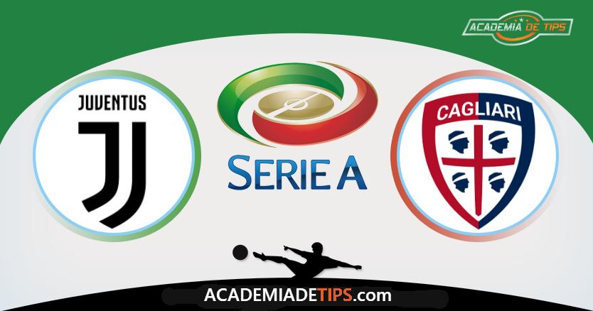 Juventus x Cagliari, Prognóstico, Analise e Apostas Online - Serie A