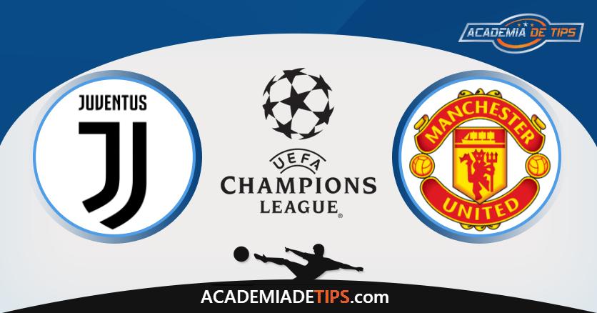 Juventus x Manchester United, Prognóstico, Analise e Apostas - Liga dos Campeões
