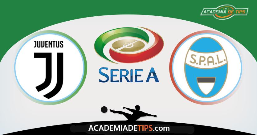 Juventus x Spal, Prognóstico, Analise e Apostas Online - Serie A