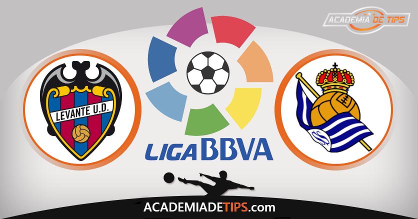 Levante x Real Sociedad,Prognóstico, Analise e Apostas - La Liga