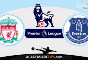 Liverpool x Everton,Prognóstico, Analise e Apostas - Premier League