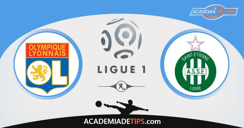 Lyon x St. Étienne, Prognóstico, Analise e Apostas - Ligue 1