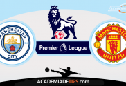 Manchester City x Manchester United, Prognóstico, Analise e Apostas - Premier League