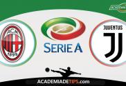 Milan x Juventus, prognóstico, Analise e Apostas Online - Serie A