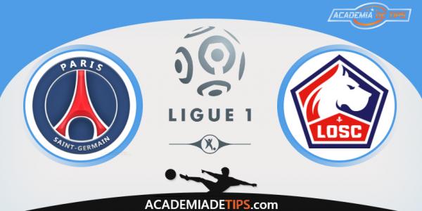 PSG x Lille, Prognóstico, Analise e Apostas - Ligue 1