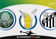 Palmeiras x Santos, Prognóstico, Analise e Apostas Online - Brasileirão