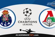 Porto x Lokomotiv Moscou, Prognóstico, Analise, Apostas, Liga do Campeões