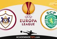 Qarabag x Sporting, Prognóstico, Analise, Apostas, Liga Europa