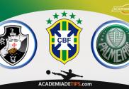 Vasco x Palmeiras, Prognóstico, Analise e Apostas Online – Brasileirão