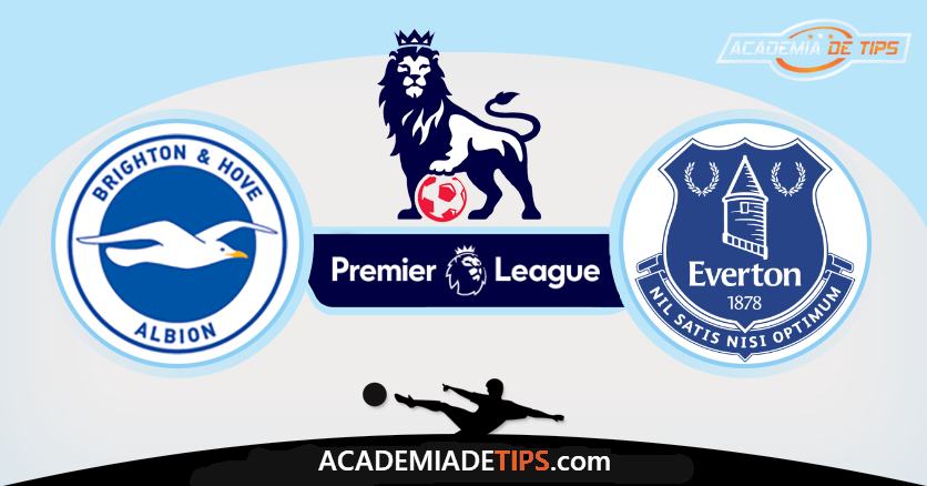 Brighton vs Everton,Prognóstico, Analise e Apostas - Premier League