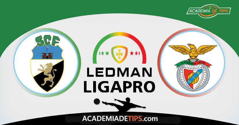 Farense x Benfica B, Prognóstico, Analise e Apostas - Ledman LigaPro