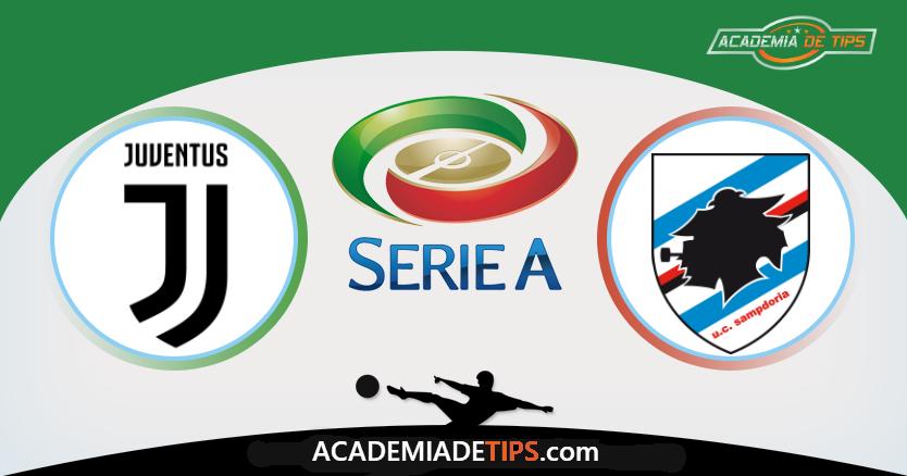 Juventus vs Sampdoria, Prognóstico, Analise e Apostas Online - Serie A