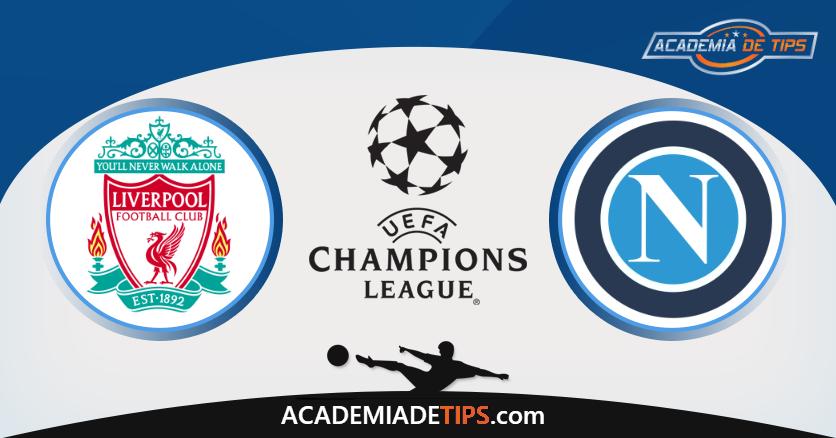 Liverpool x Napoli, Prognóstico, Analise, Apostas, Liga do Campeões