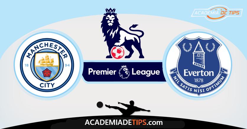 Manchester City x Everton,Prognóstico, Analise e Apostas - Premier League