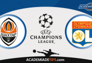 Shakhtar x Lyon, Prognóstico, Analise e Apostas - Liga dos Campeões