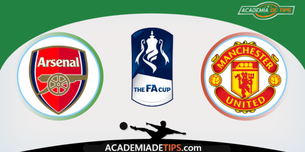 Arsenal vs Manchester United, Apostas, Prognóstico, e Analise - Fa Cup