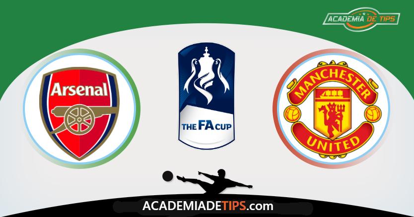 Arsenal vs Manchester United,Apostas, Prognóstico, e Analise - Fa Cup