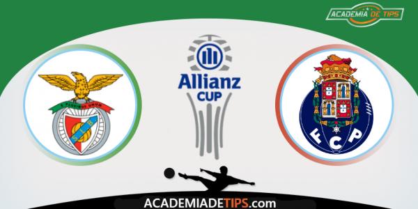 Benfica vs FC Porto, Apostas e Prognóstico - Taça da Liga Allianz Cup