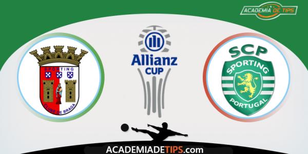 Braga vs Sporting, Apostas e Prognóstico - Allianz Cup