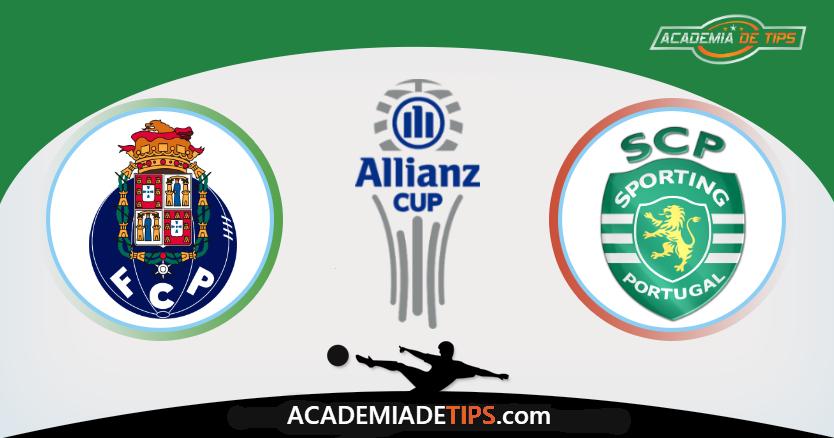 FC Porto vs Sporting, Apostas e Prognóstico - Allianz Cup