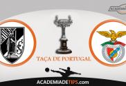 Guimarães vs Benfica, Prognóstico, Analise e Apostas - Taça de Portugal