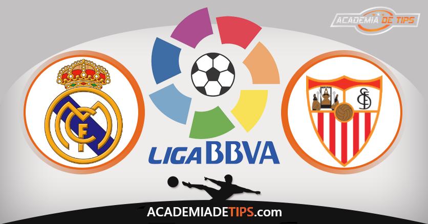 Real Madrid vs Sevilla, Prognóstico, Analise e Apostas - La Liga