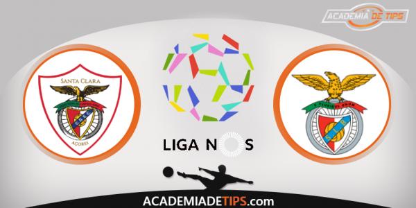 Santa Clara x Benfica, Prognóstico, Analise e Apostas Online - Liga NOS