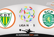 Tondela x Sporting, Prognóstico, Analise e Apostas Online - Liga NOS
