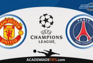 Manchester United vs PSG, Prognóstico, Analise e Apostas Liga dos Campeões
