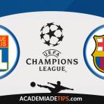 Olympique Lyonnais vs Barcelona, Prognóstico, Analise e Apostas Liga dos Campeões