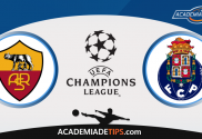 Roma vs Porto, Apostas, Prognóstico e Analise da UEFA Champions League