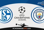 Schalke 04 vs Manchester City , Prognóstico, Analise e Apostas Liga dos Campeões